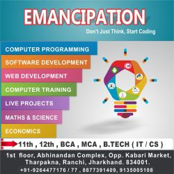 Emancipation Tharpakhna Computer Training Institutes In Ranchi Justdial