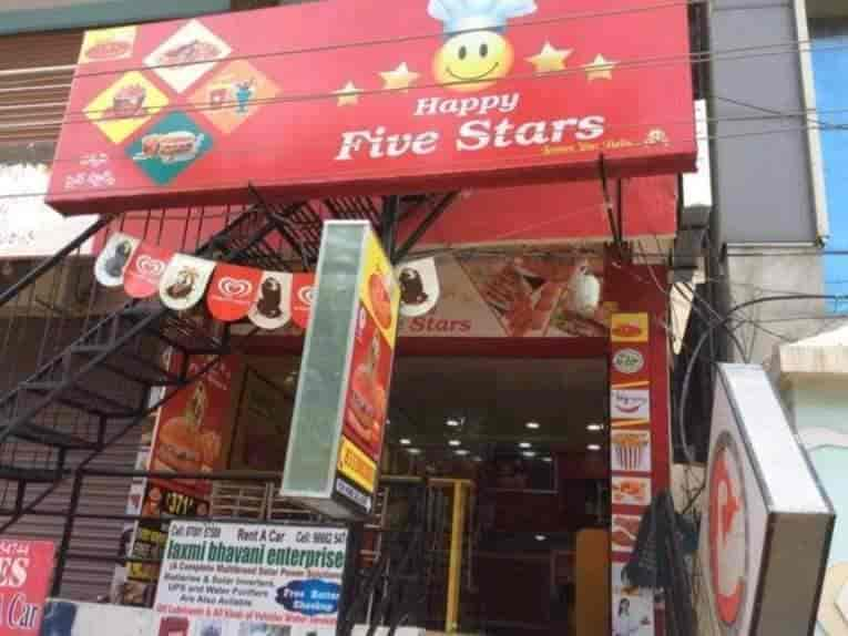 Happy Five Stars, Pet Basheerabad, Hyderabad - Fast Food