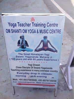 Om Shanti Om Yoga Teacher Training School Photos