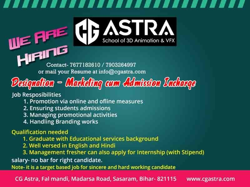 CG Astra, Sasaram - Computer Training Institutes in Rohtas