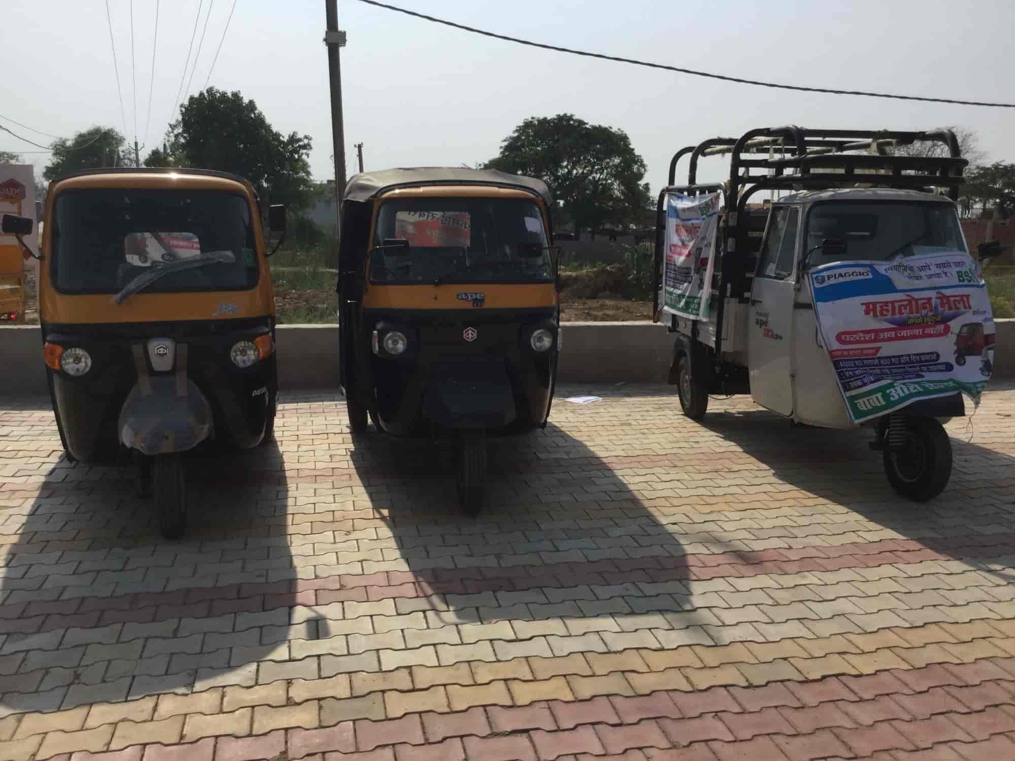 Baba Auto Sales Sasaram Three Wheeler Dealers Piaggio Ape In