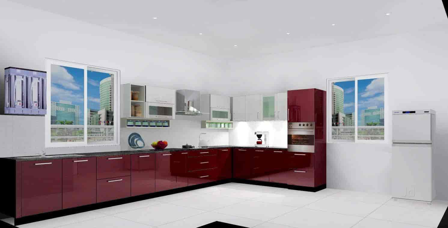 Samrudh Kitchen Works, Seelanaickenpatti - Modular Kitchen Dealers ...