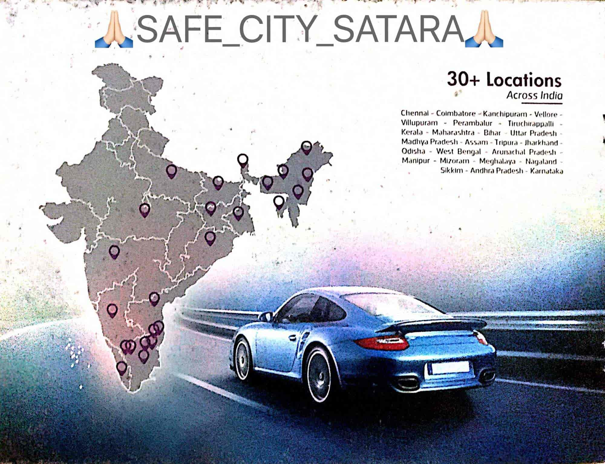 Super Safe Satara Made In India, Satara HO - Gps Vehicle Tracking