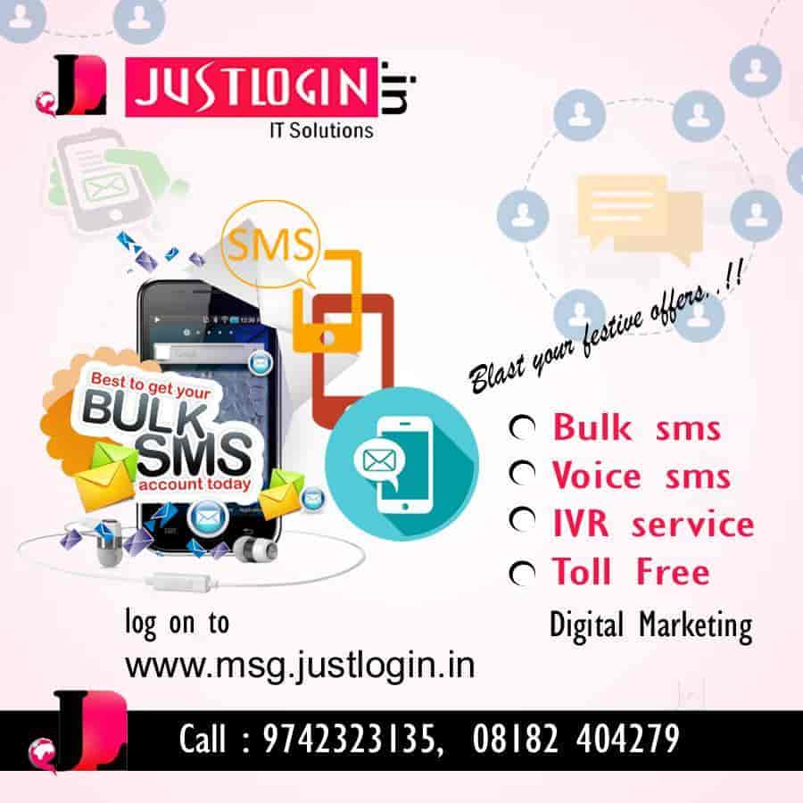Just Login, Bh Road - Bulk SMS Services in Shimoga - Justdial