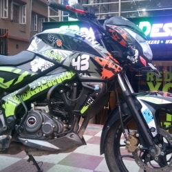 Cr Decals Designs Outlet, Sevoke Road - Motorcycle Spare