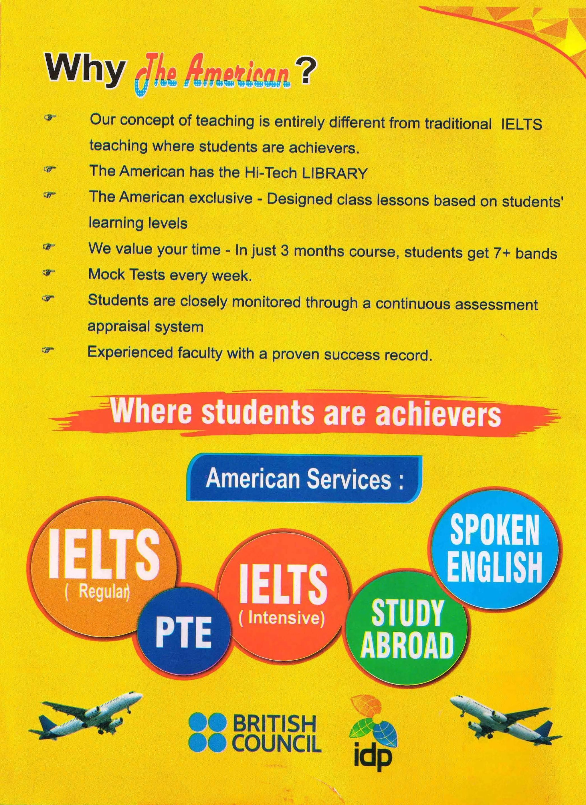 The American Institute Of Spoken English and Ielts, Near