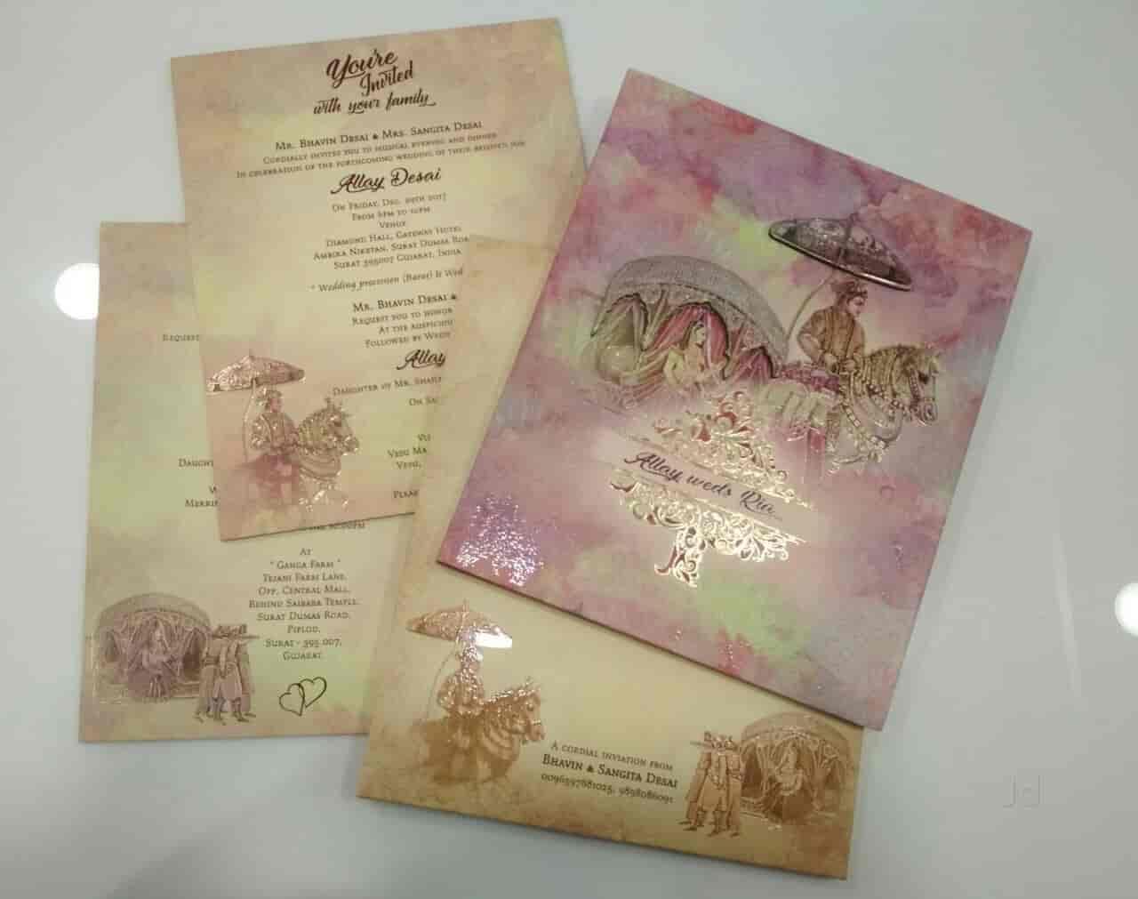 Shivam Agencies Exclusive Wedding Cards Shop Chauta Bazaar