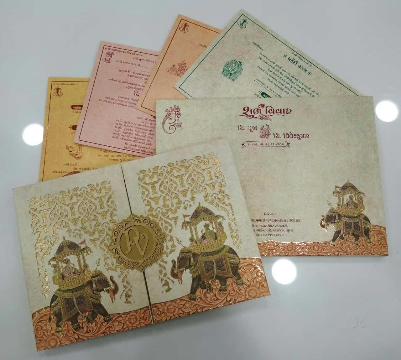 Shivam Agencies Exclusive Wedding Cards Shop Photos Chauta Bazaar