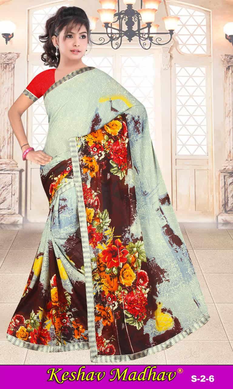 b40e8e6662 Keshav Madhav Fashion, Ring Road - Saree Manufacturers in Surat - Justdial