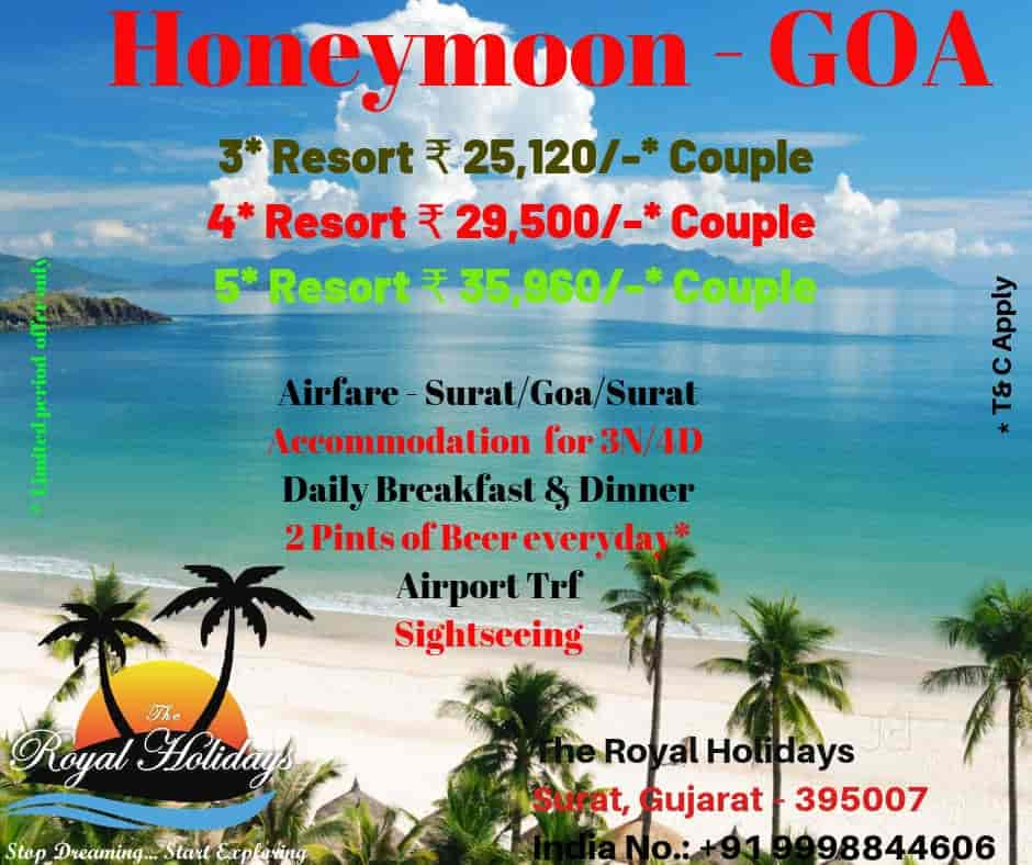 The Royal Holidays, Ghoddod Road - Air Ticketing Agents in