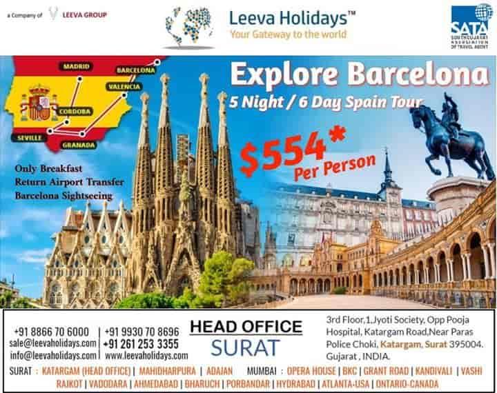 Leeva Holidays, Katargam - Travel Agents in Surat - Justdial