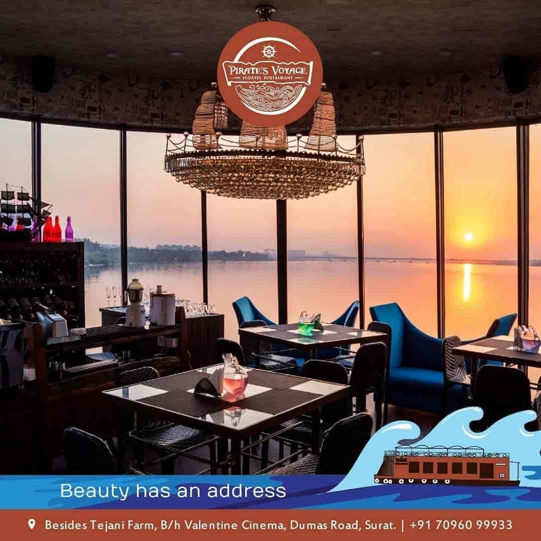 Pirates Voyage Dumas Road Floating Restaurants In Surat