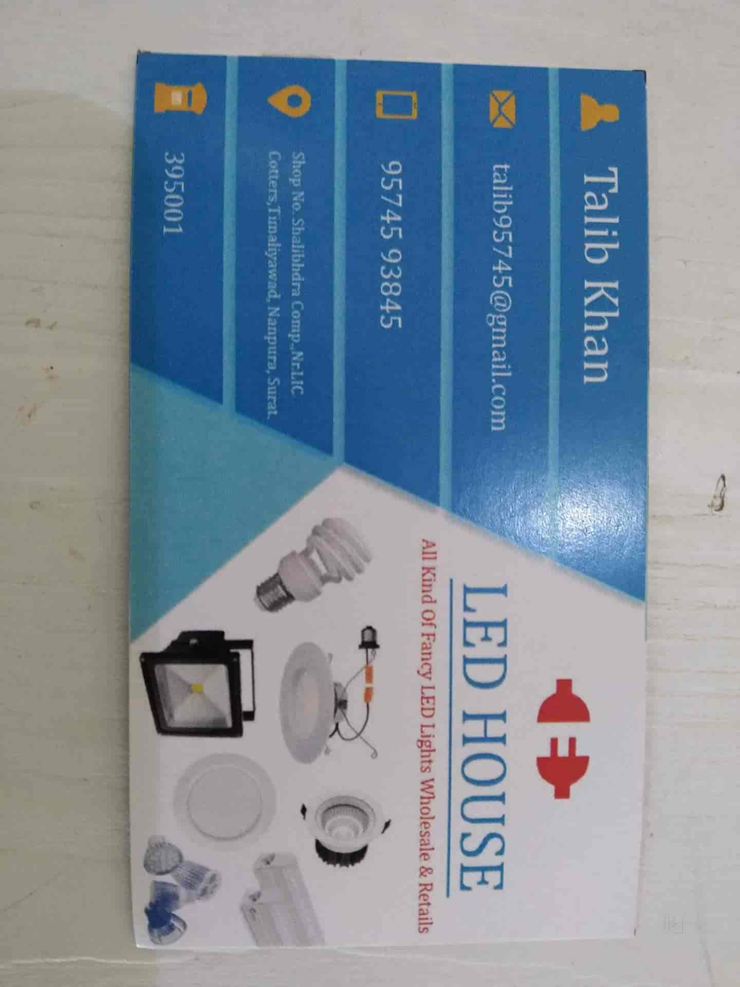 LED House, Nanpura - Electricians in Surat - Justdial