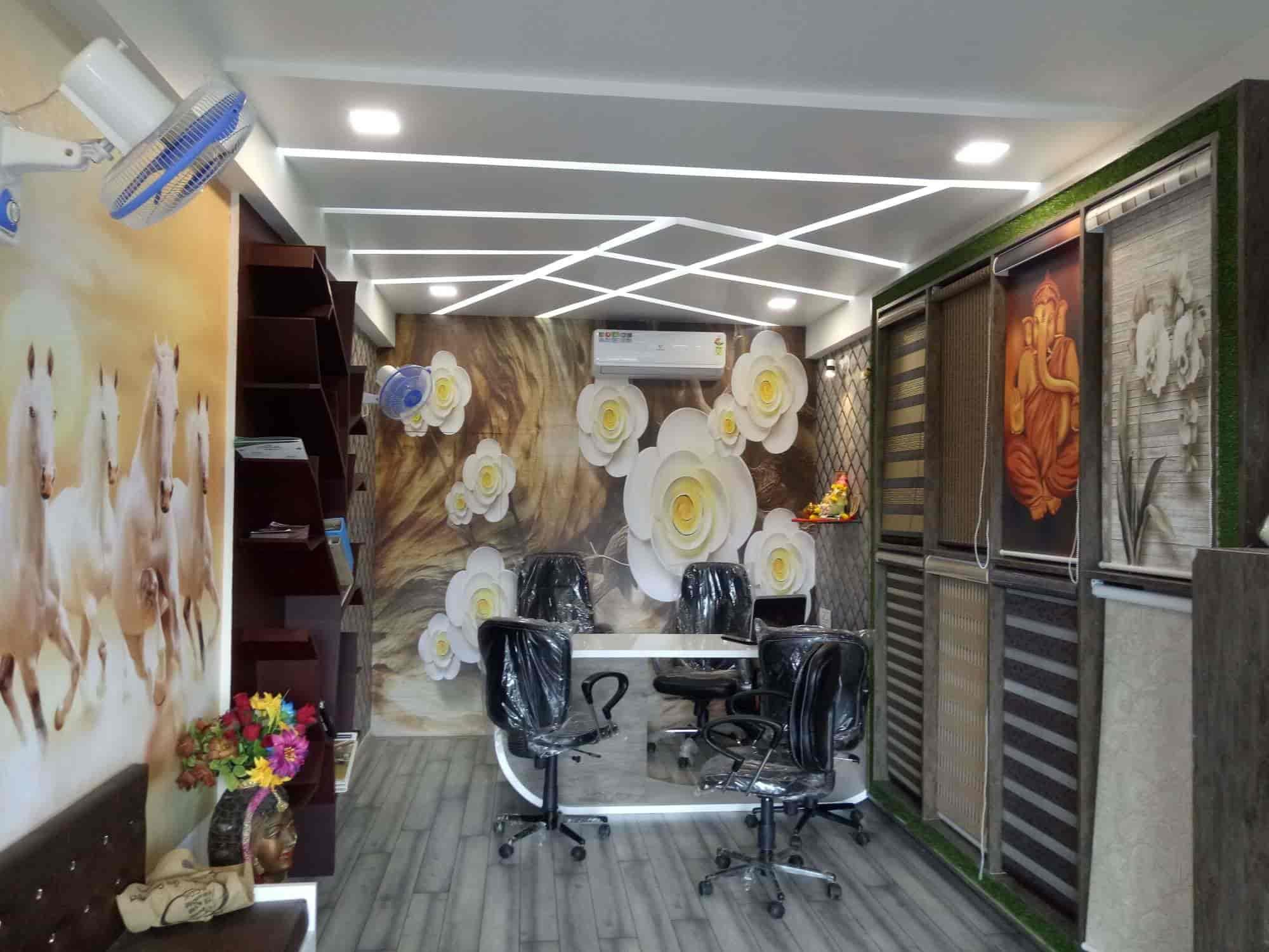 Creative Wallpaper Interior Design Photos Katargam Surat