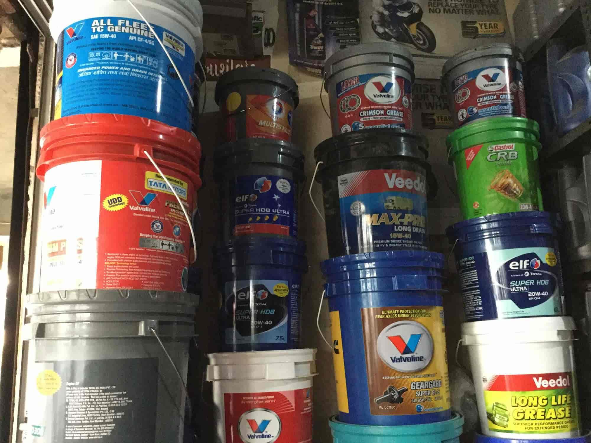 Uma Tyre & Oil, Kamrej Char Rasta - Tyre Dealers-MRF in
