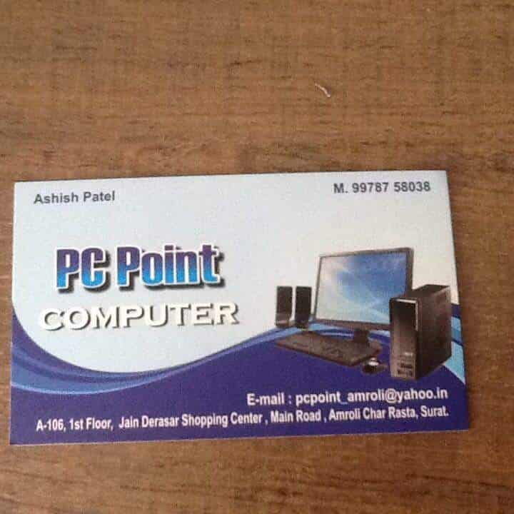 Pc Point Computer And Cctv Photos, Amroli, Surat- Pictures & Images