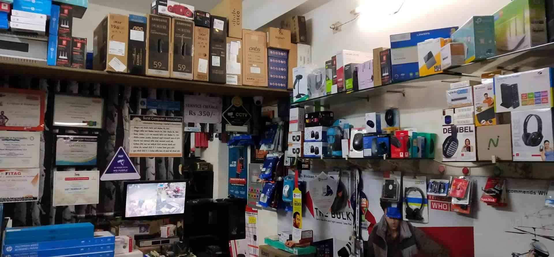 Linux Computer sales & service, Dabholi - CCTV Installation