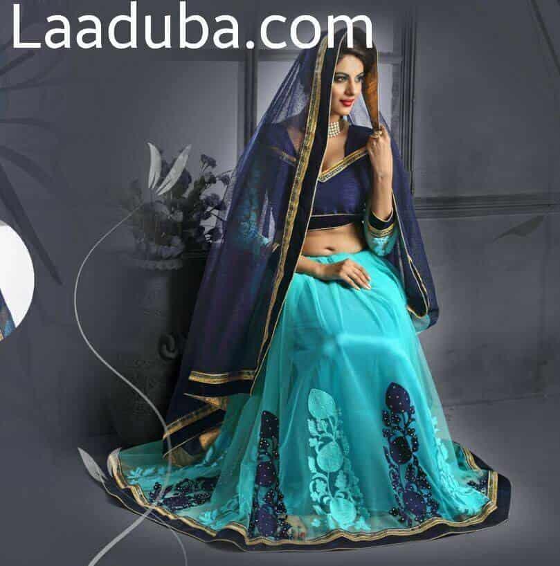 047c956f09 ... Designer Lehenga Choli - Laaduba Sarees Photos, Punagam, Surat - Fancy  Saree Retailers ...