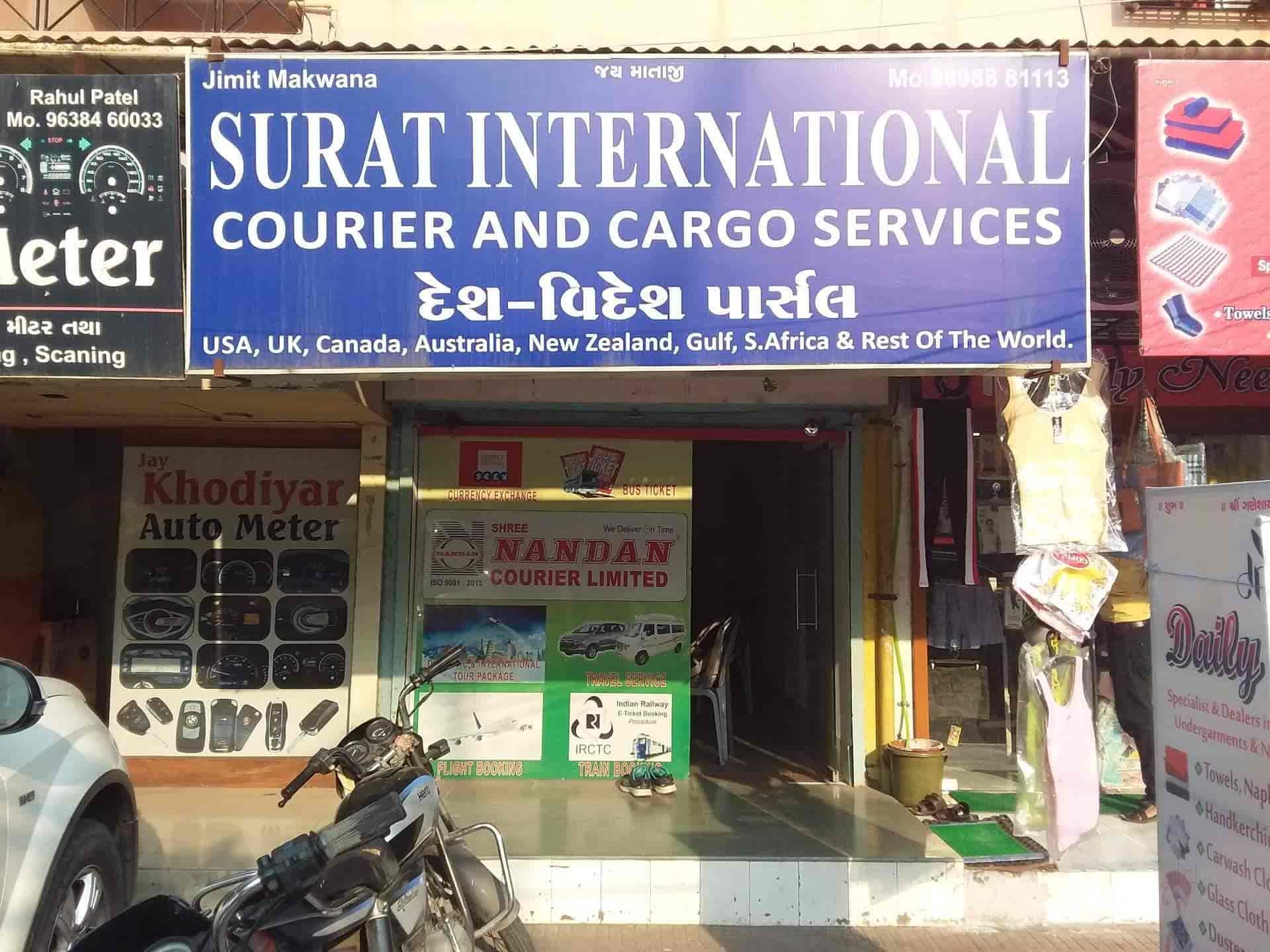 Surat International Courier And Cargo Services Adajan Road Courier Services In Surat Justdial