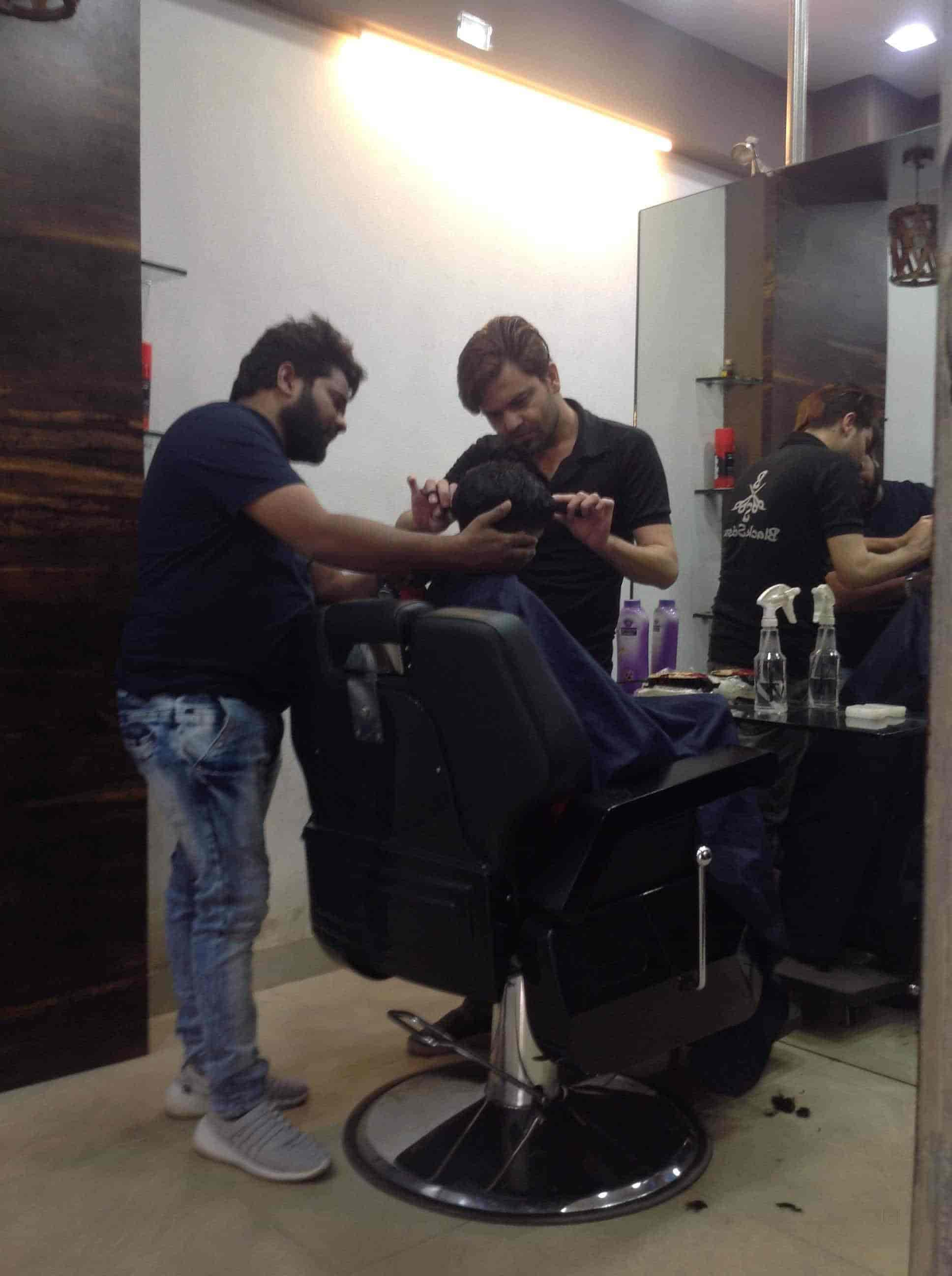 black scissor unisex salon, nanavat - beauty parlours in surat