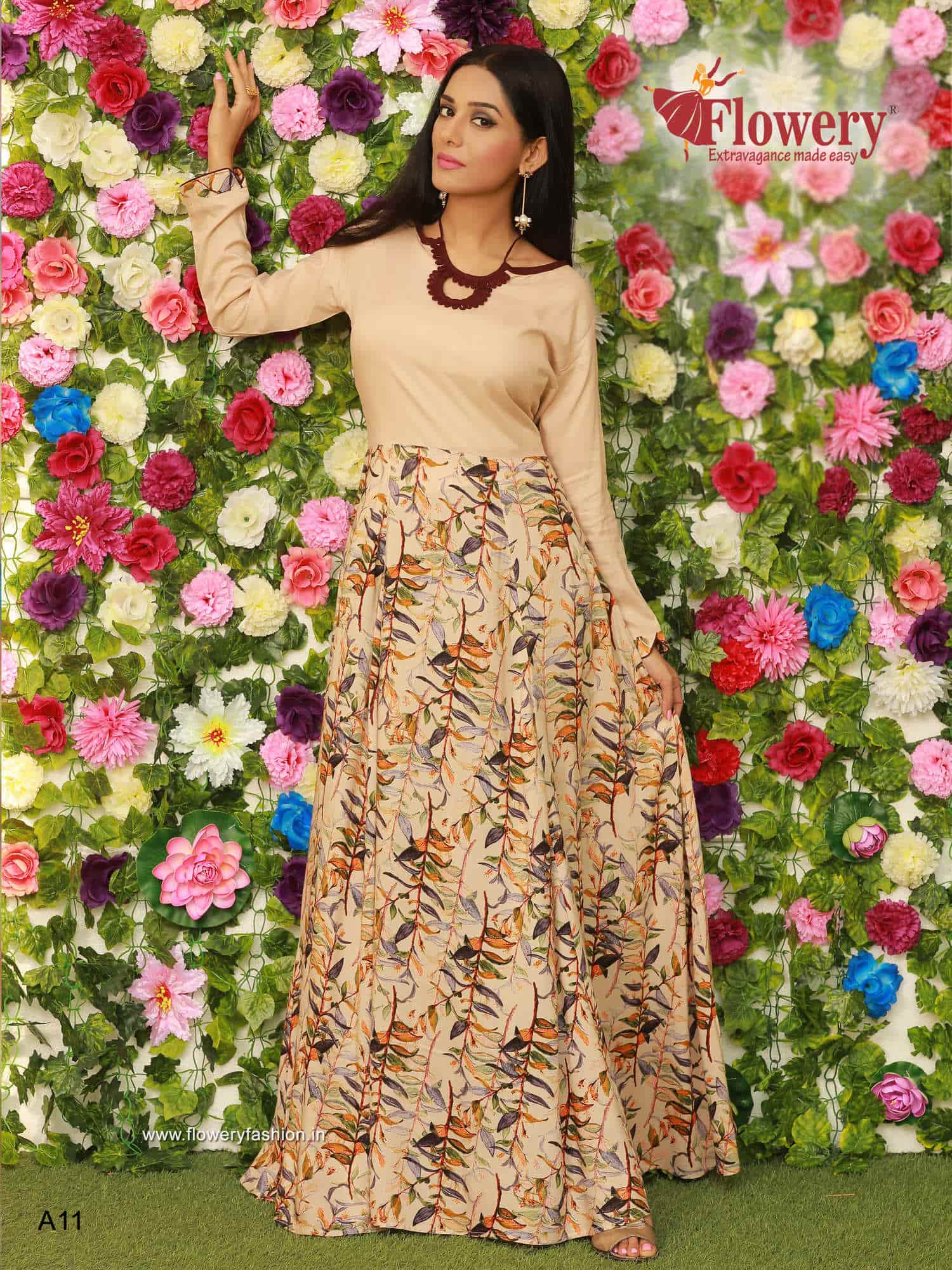 flowery fashion photos ring road surat pictures images gallery