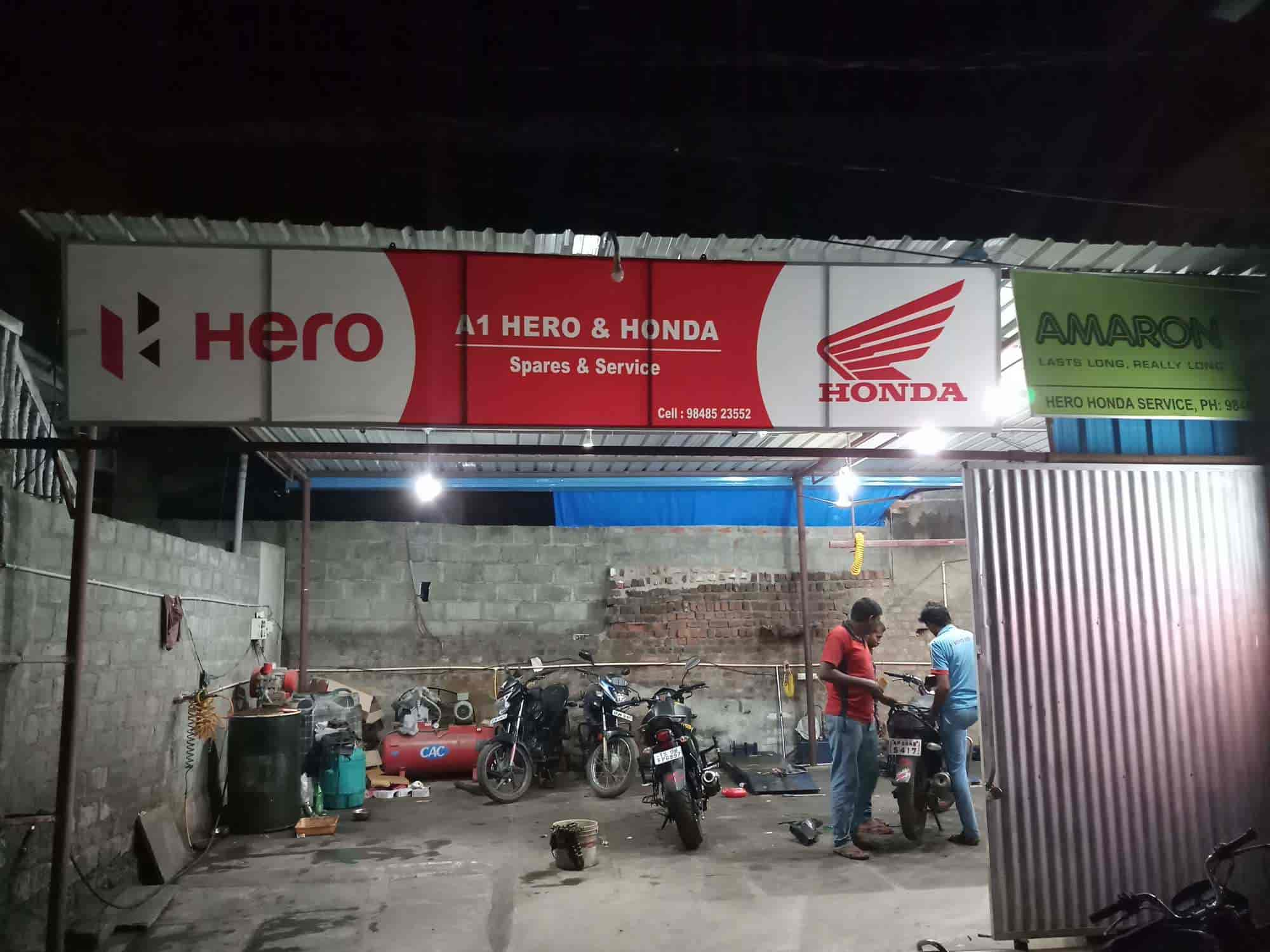 A1 Hero Honda Bike Service Center Photos, , Suryapet- Pictures ...