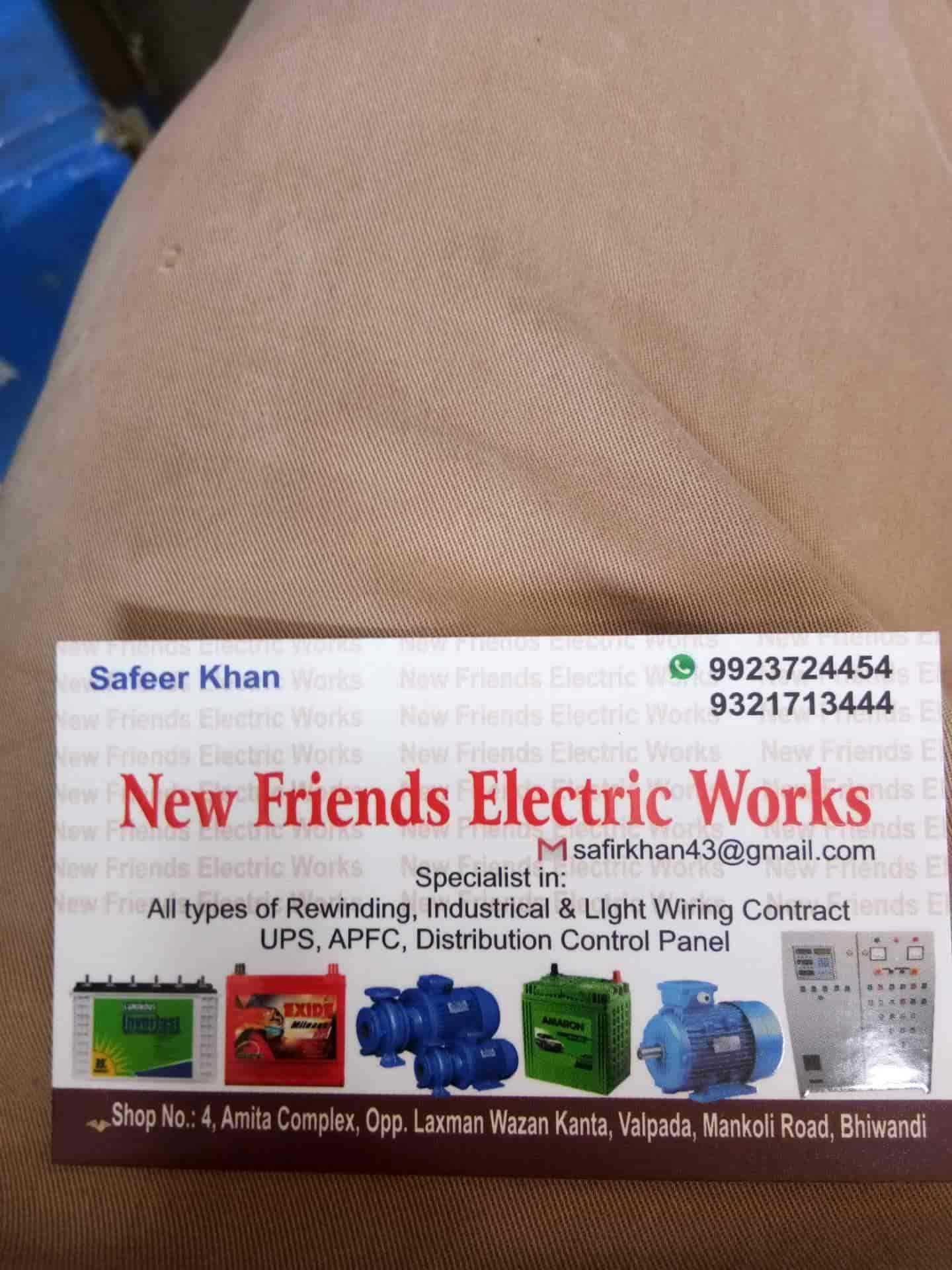 New Friends Electric Work Photos, Bhiwandi, mumbai- Pictures