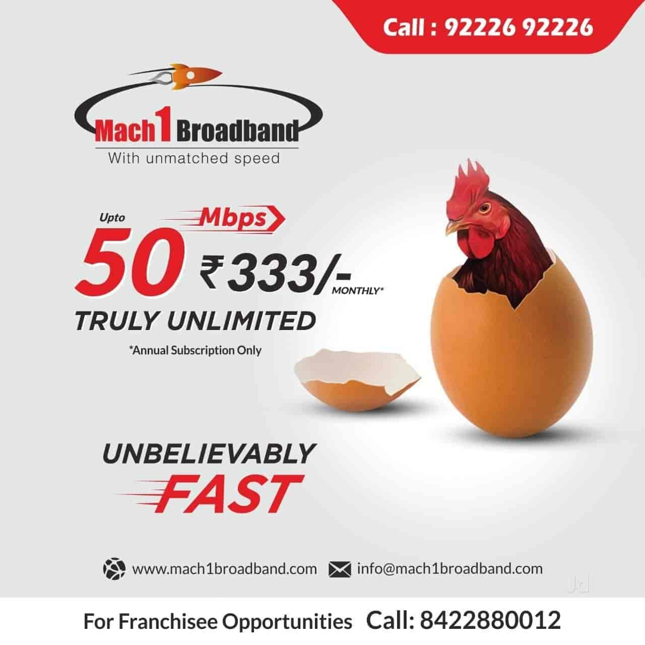 Mach 1 Broadband Photos Kopri Colony Thane East Mumbai Internet Service Providers