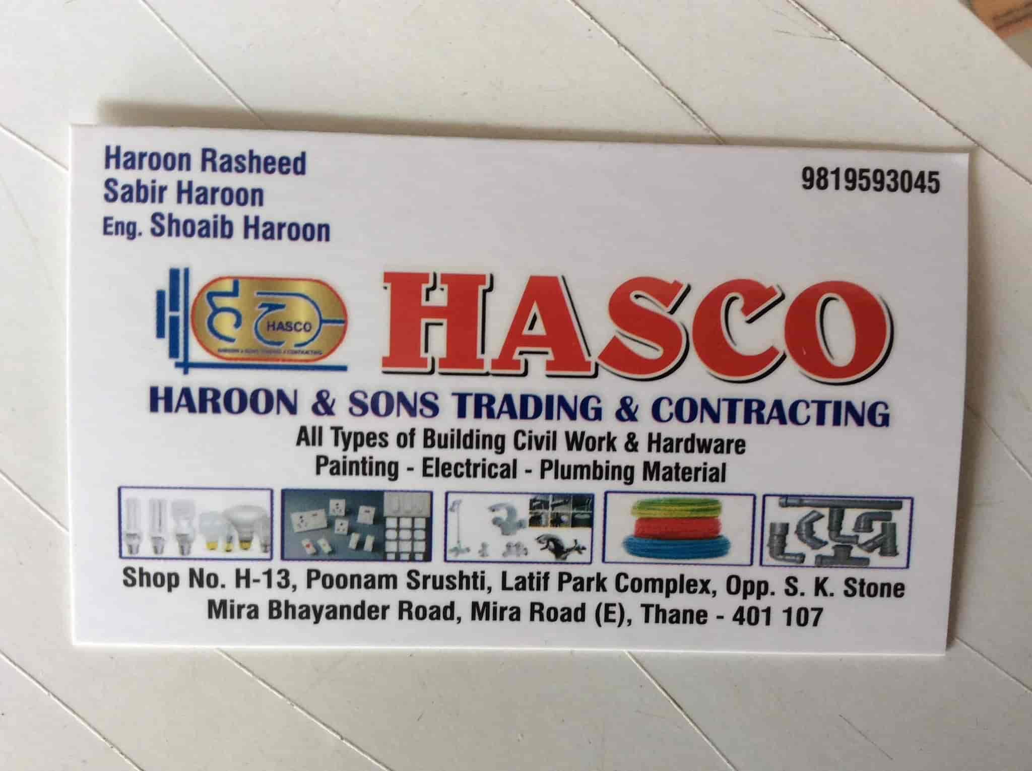 Hasco Haroon Sons Trading Contracting Photos, Mira Road