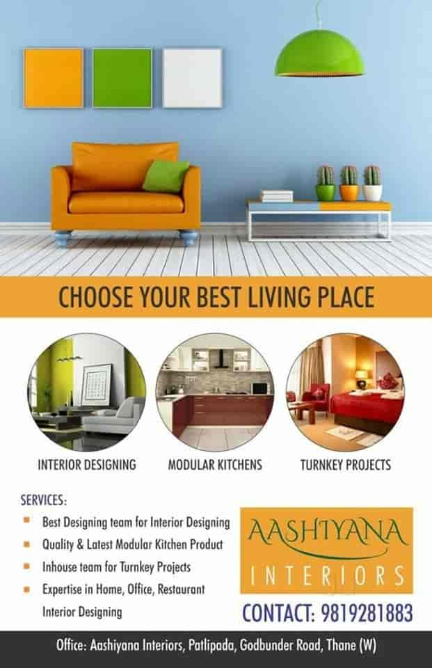 Ashiyana Interiors, Patlipada-Thane West - Interior Designers in Thane, Mumbai - Justdial