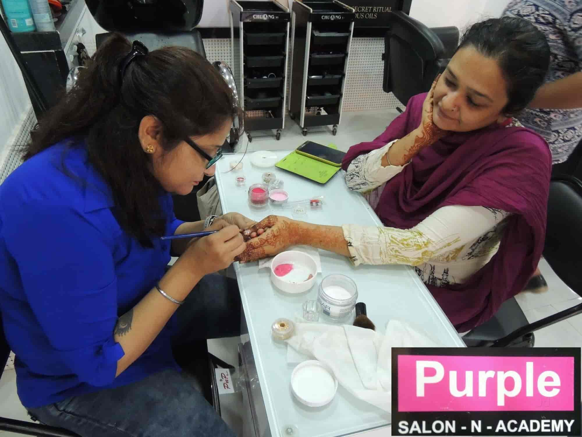 Purple Salon N Academy Photos, Mira Road, Thane- Pictures & Images ...