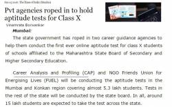 CAP Career Guidance Test, Thane West - Career Counselling
