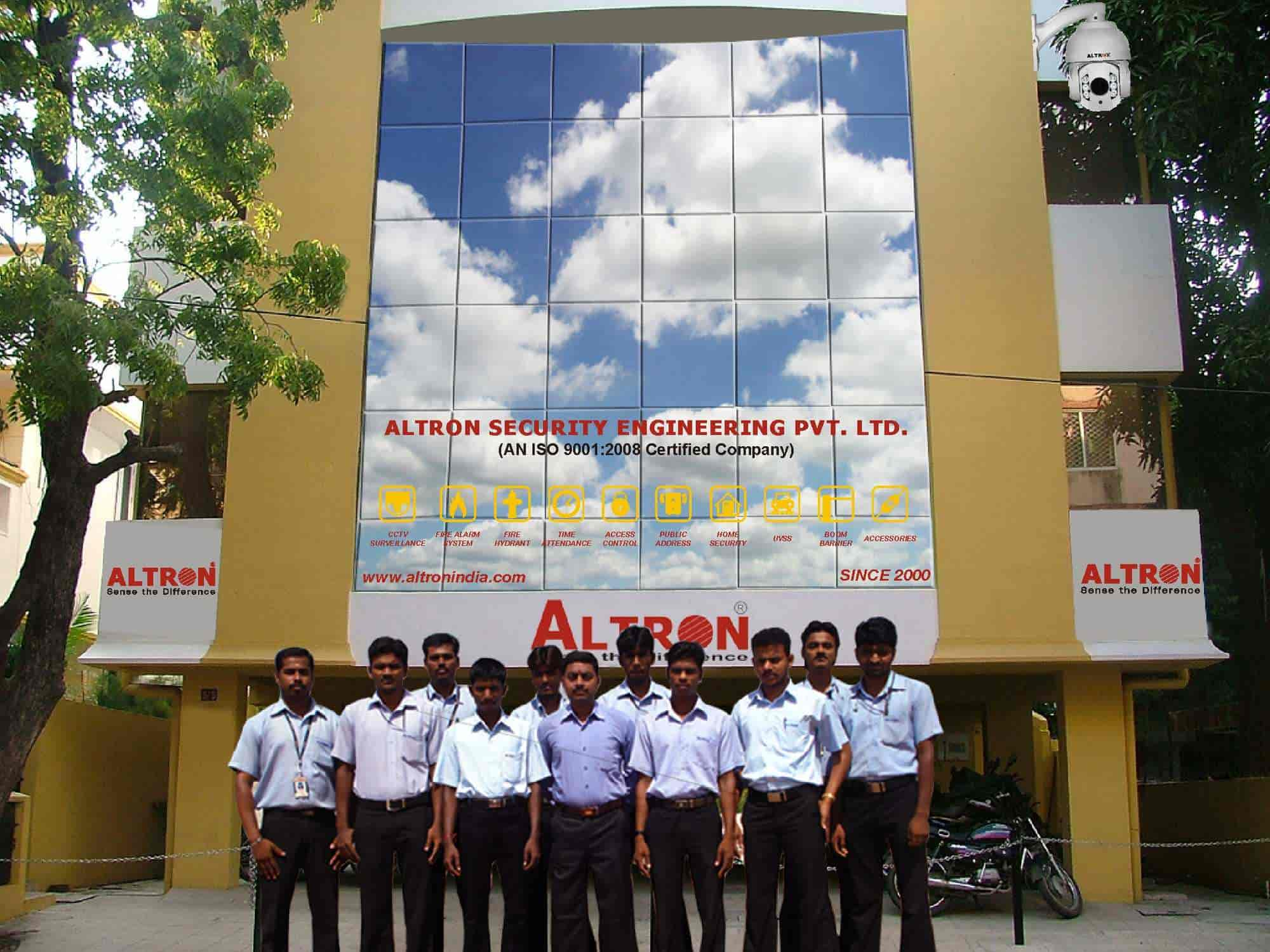 ALTRON SECURITY ENGINEERING PVT  LTD , Rajah Serfoji Government