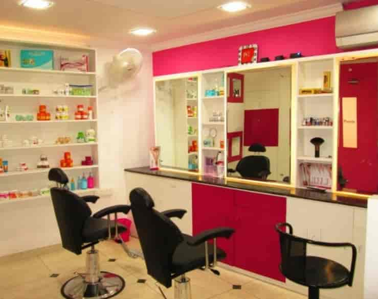 Purple Beauty Parlour Photos Karamana Thiruvananthapuram Pictures Simple Parlor Interior Design Property