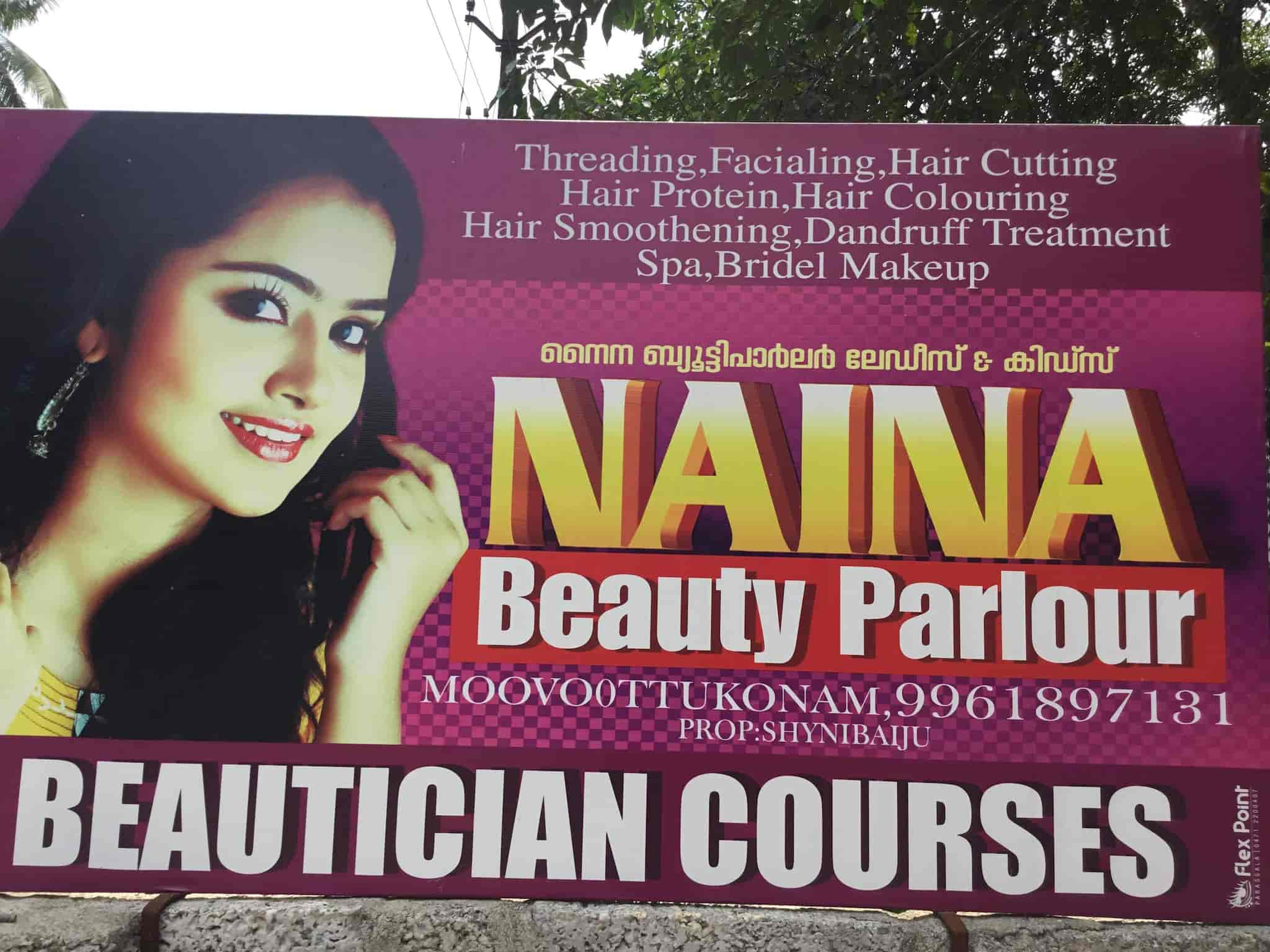 Naina Beauty Parlour Karkkonam Beauty Parlours In Thiruvananthapuram Justdial
