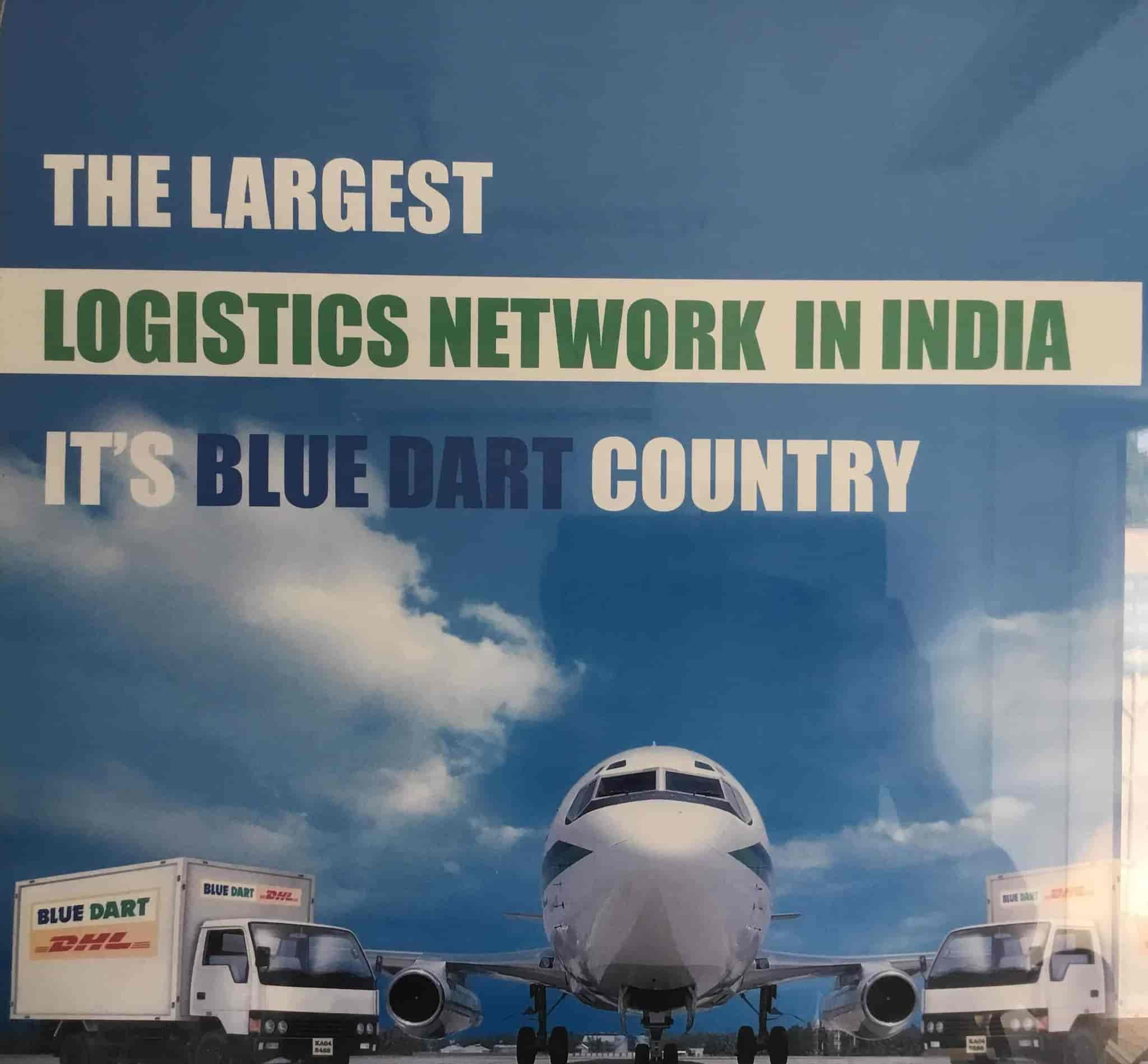 Blue Dart Express, Ayyanthole, Thrissur - Domestic & international
