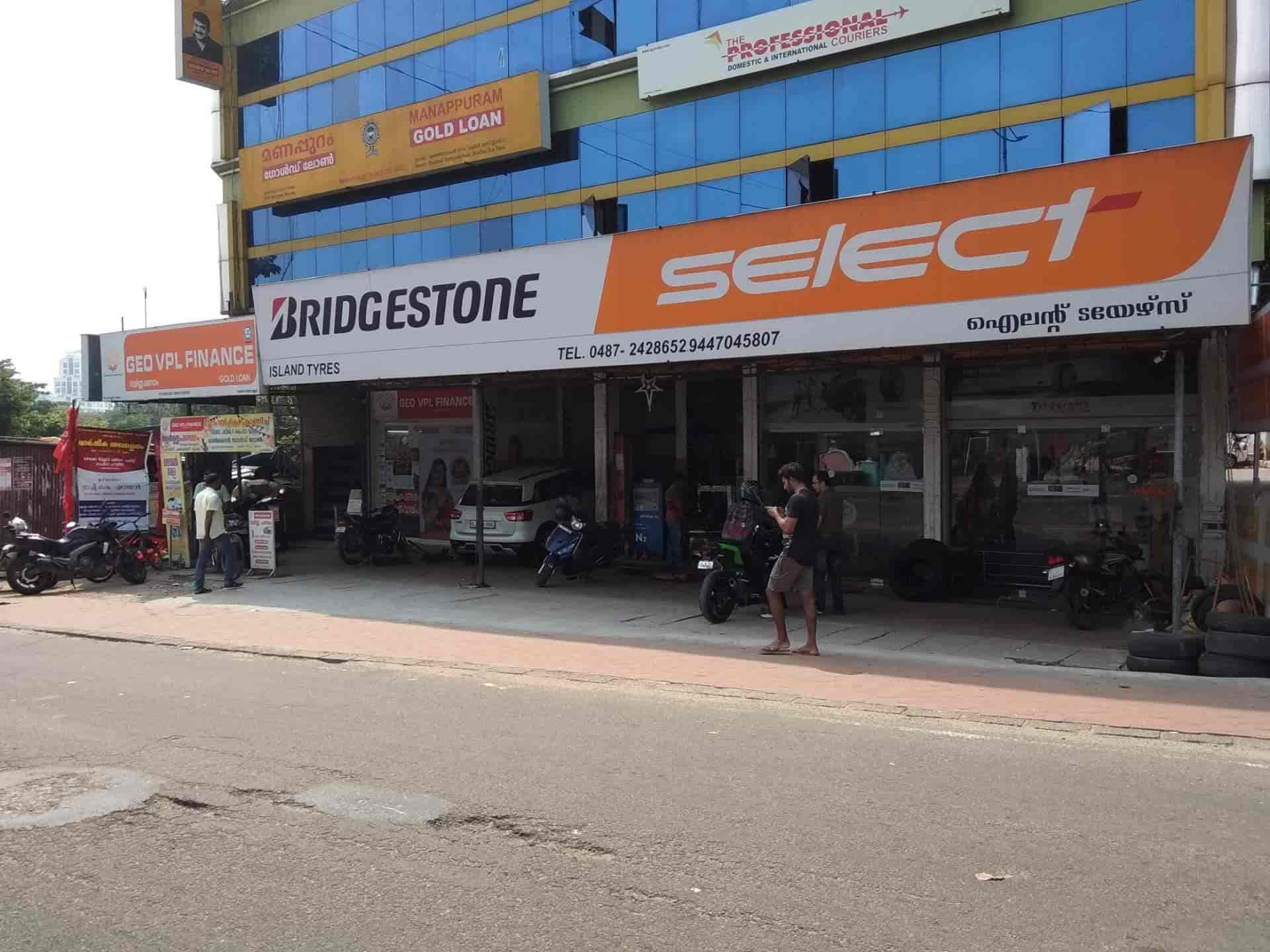Island Tyres, Thrissur Railway Station - Tyre Dealers in thrissur