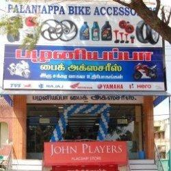 Palaniappa Bike Accessories, Vannarpettai - Motorcycle Part Dealers