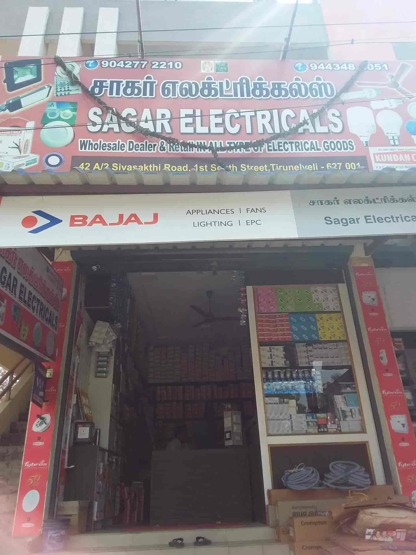 Sagar Electricals, Junction - Electrical Shops in Tirunelveli - Justdial