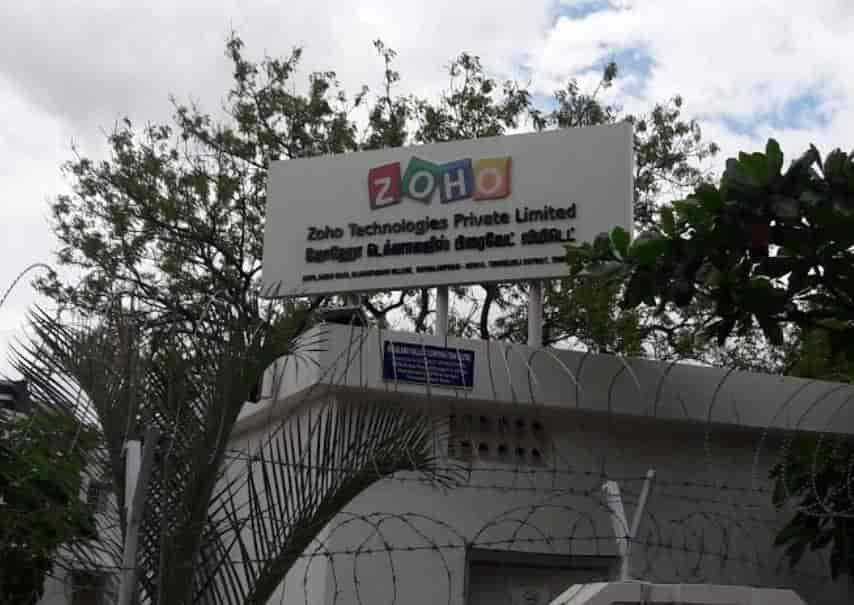 Zoho Technologies Pvt Ltd Mathalamparai Software Companies In Tirunelveli Justdial