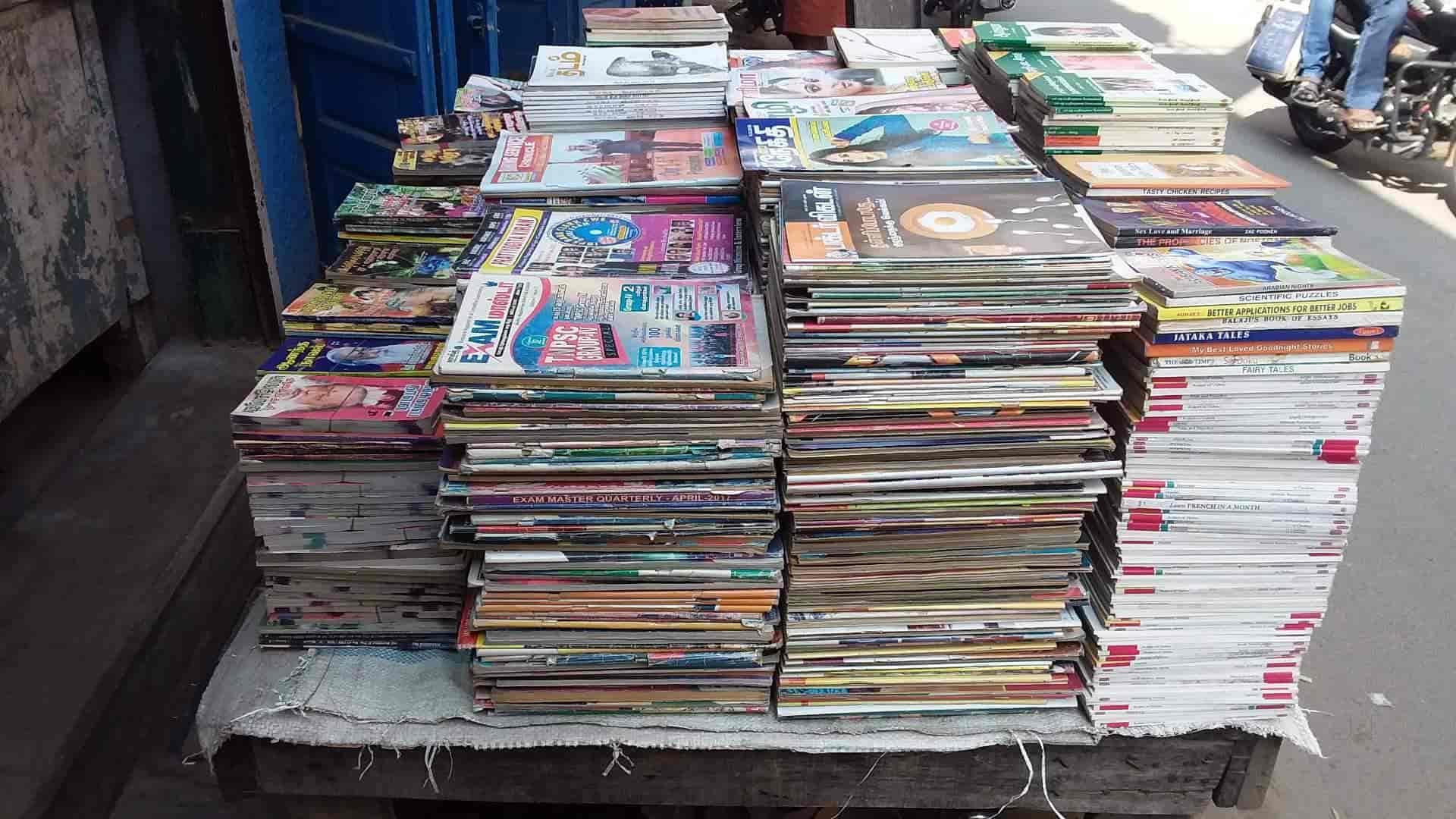 Elangovan Old Book Stall, Tirunelveli Junction - Book Shops in