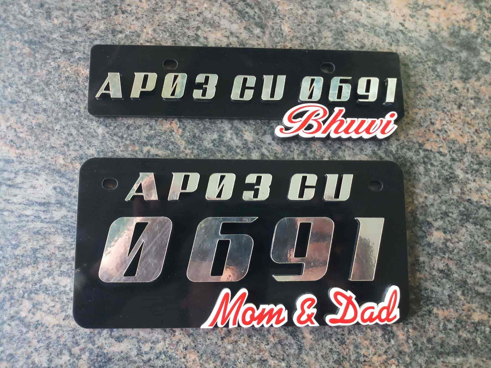 Sri venkateswara stickering tml by pass road car number plate dealers in tirupati justdial