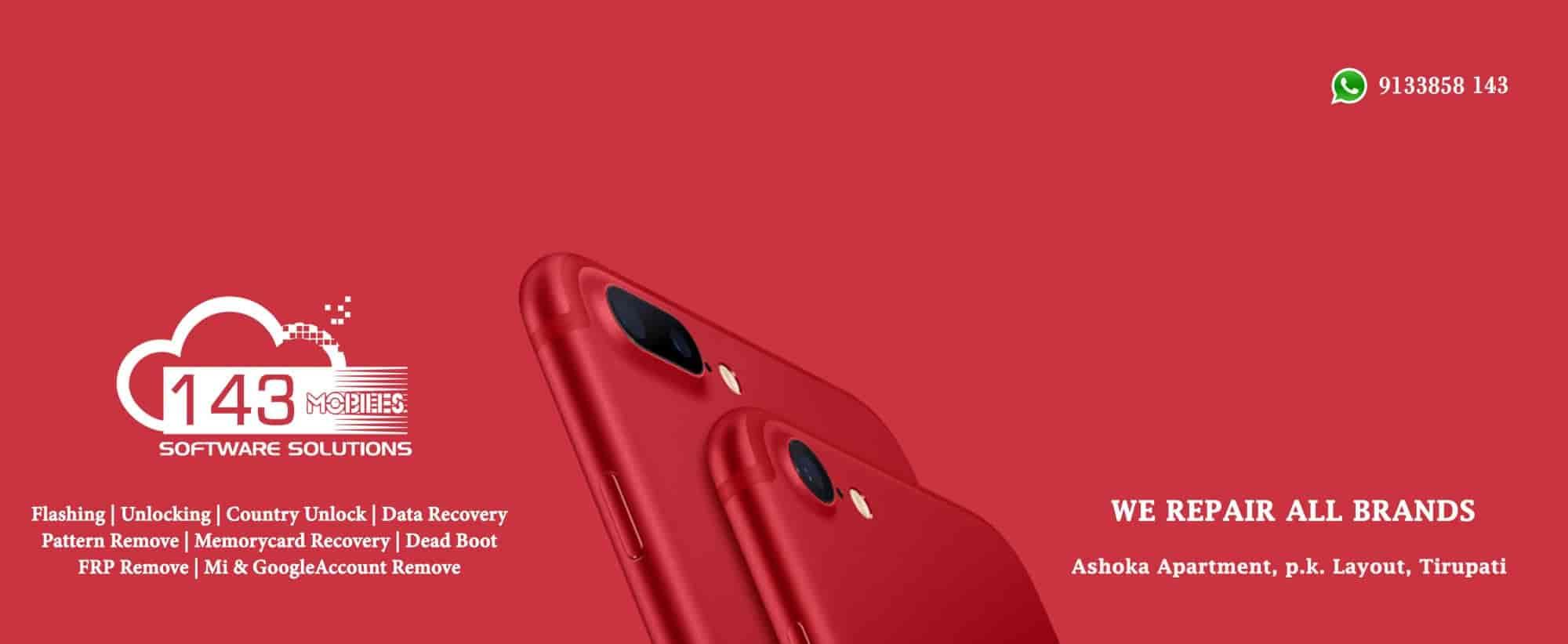 143 Mobiles Photos, Pk Layout, Tirupati - Mobile Phone Service Providers ...