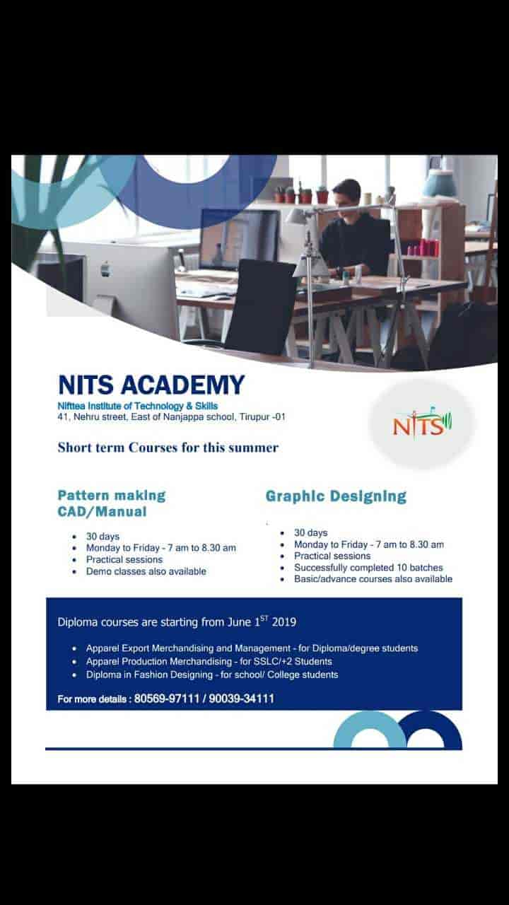 Nift Tea Academic Designs Palladam Road Fashion Designing Institutes In Tirupur Justdial