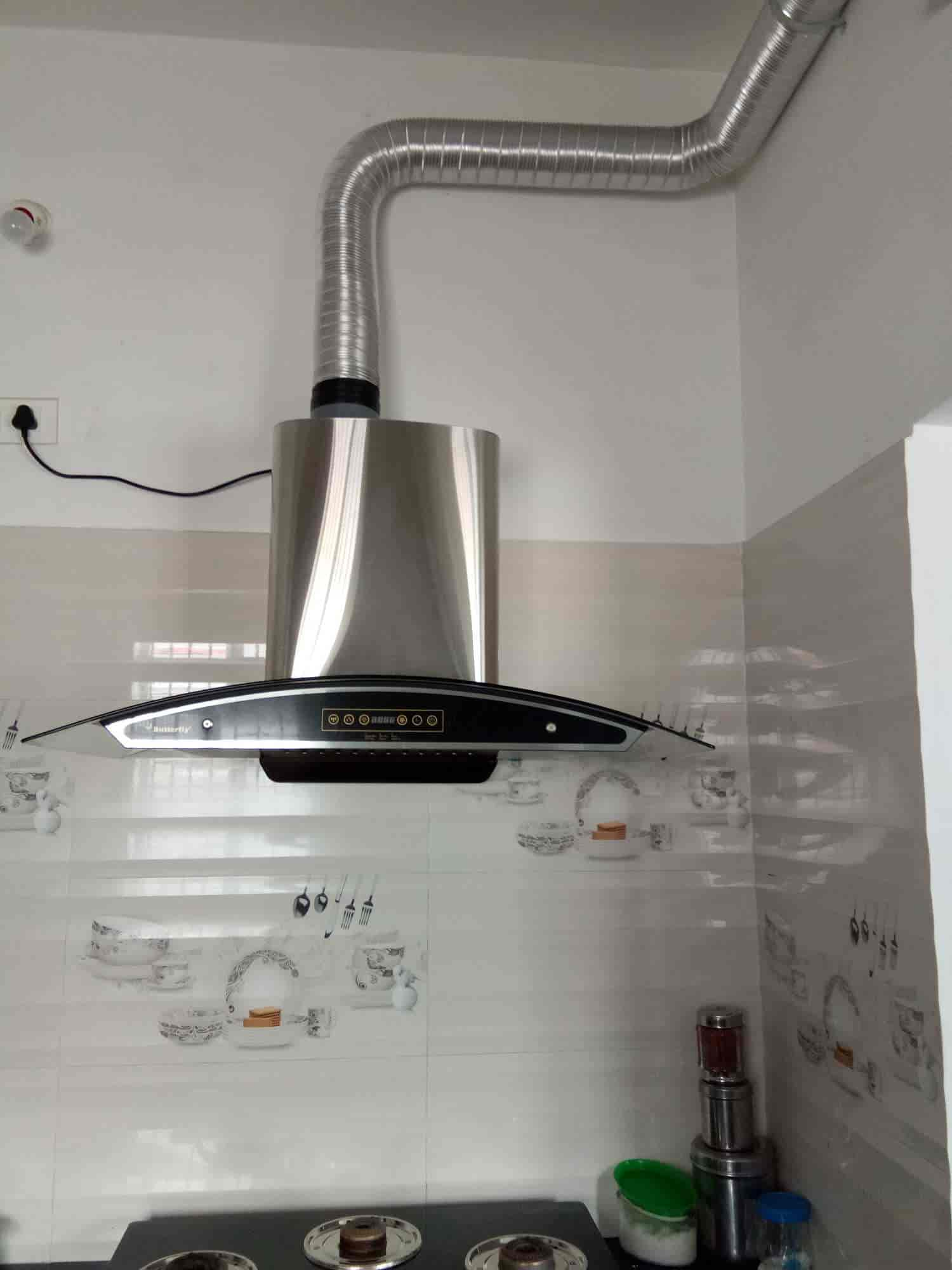 Angel Kitchen Care Systems Kumarnagar Electric Chimney