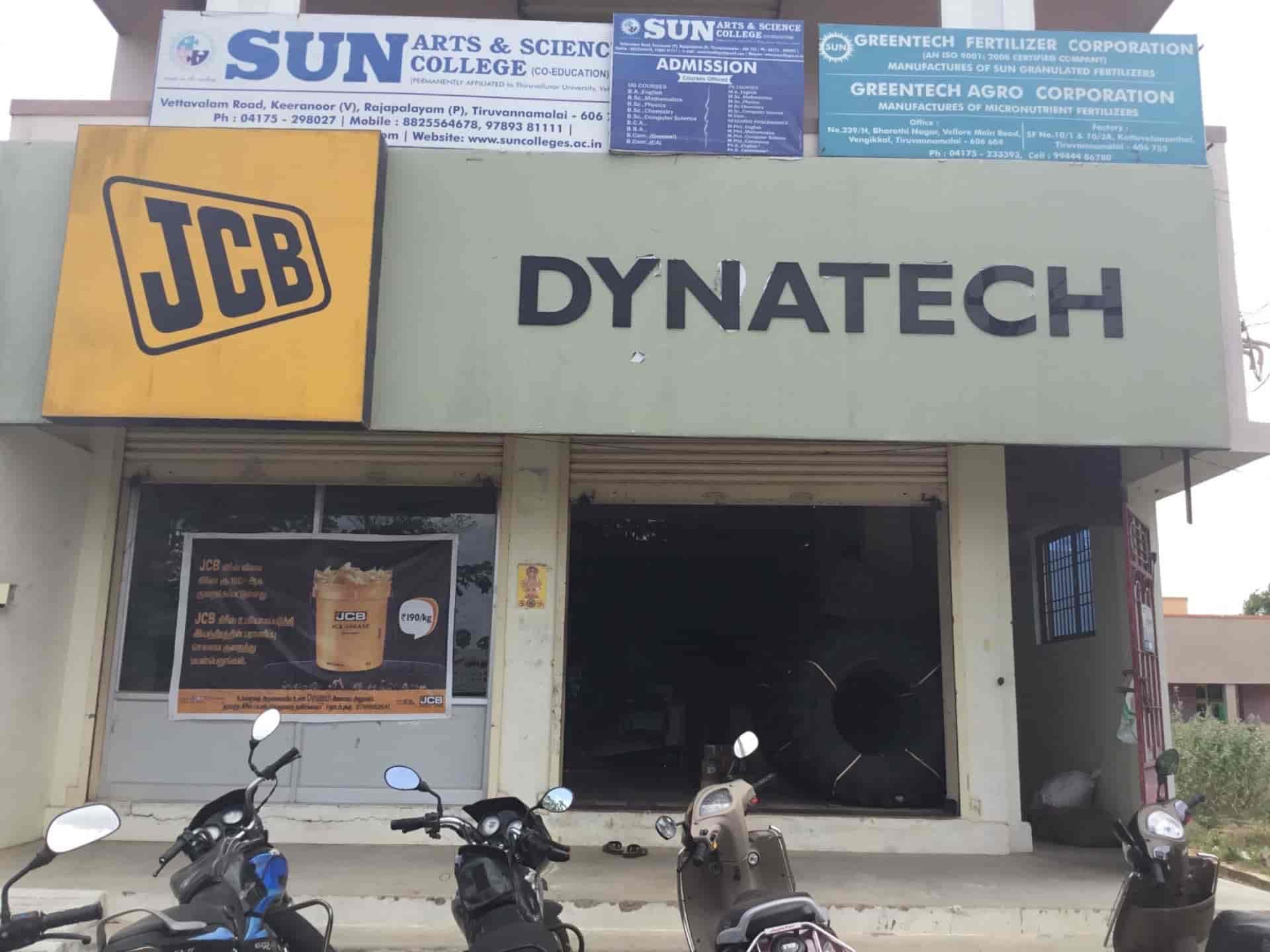 JCB Dynatech, Vengikal Tiruvannamalai - Earthmover Dealers-JCB in