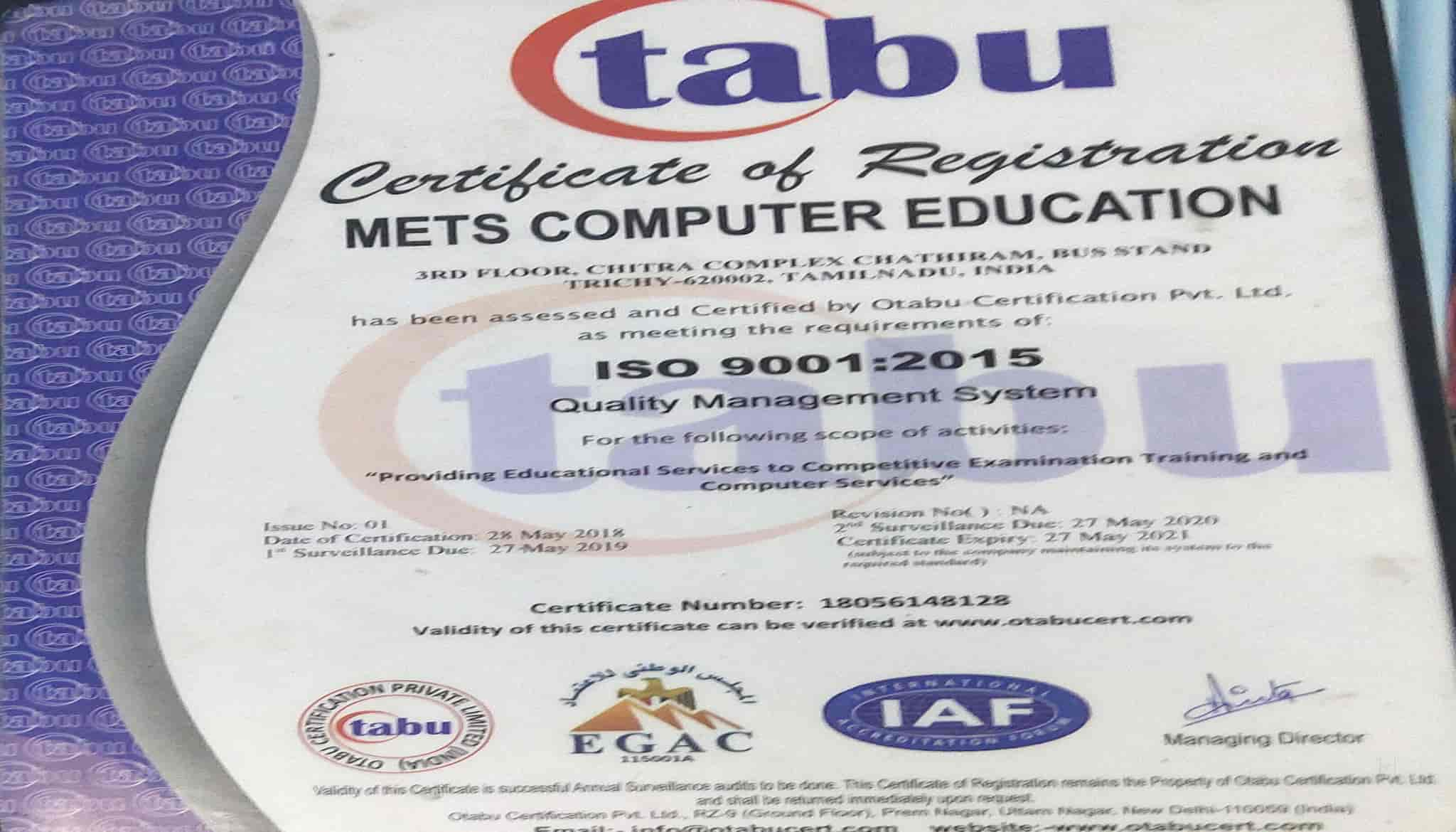 Mets Computer Education, Chathiram Bus Stand - AUTOCAD