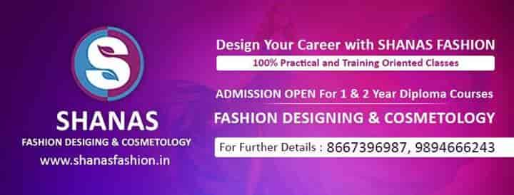 Shanas Designing Institution K K Nagar Tailoring Classes In Trichy Justdial