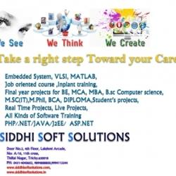 Shree Siddhi Soft Solutions, Thillai Nagar - Computer Training