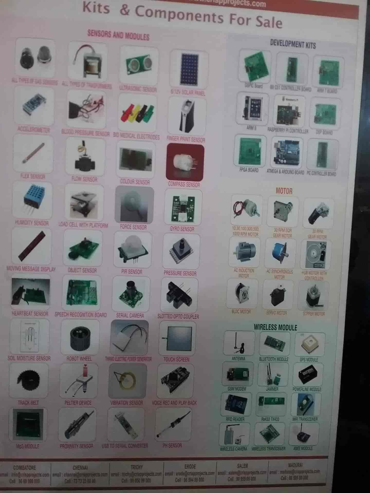Crisp System India Pvt Ltd, Chathiram Bus Stand - Computer